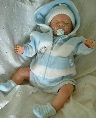 REBORN BABY DOLL NEWBORN LIFE LIKE BABY BOY CHILD FRIENDLY NOW A PLAY DOLL