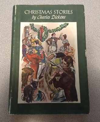 Doubleday Book Club Edition CHRISTMAS STORIES Charles Dickens (Hardcover, 1955) ()