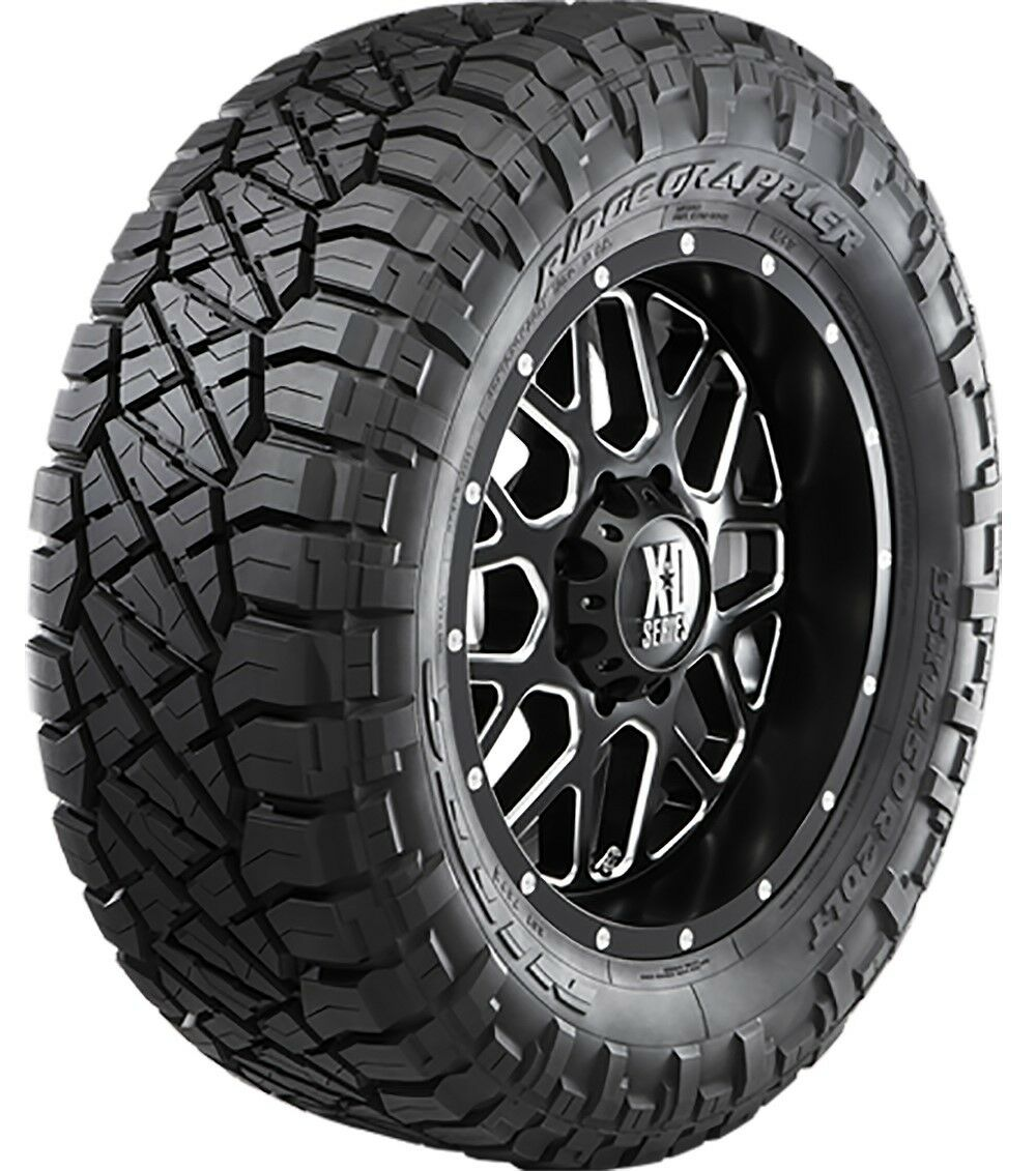 F And F Tire >> Details About 4 Nitto Ridge Grappler 33x12 50r20lt Tires 12 Ply F 119q 33 12 50 20