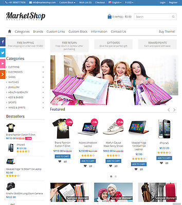Online Shopstore Ecommerce Website Multi Vendor