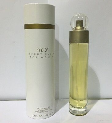 360 By Perry Ellis 3.3 / 3.4 Oz EDT Spray New In Box Perfume For Women