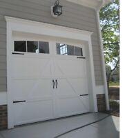 Garage Door Capping and Caulking