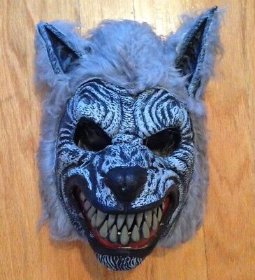 Werewolf Ani-Motion Mask w/Moving Jaw from Cal. Costume