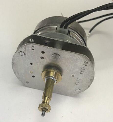 "33-153 Hansen Synchron Motor Type ""d"" Electric Movt. 1 3/8"" shaft, Rear Set CM"