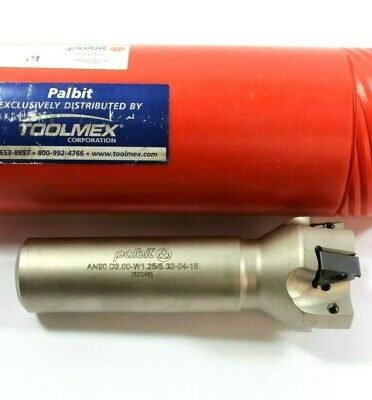 Palbit Toolmex An90 D2.00-w1.255.32-04-16 Tool Holder W 1 Insert Brand New
