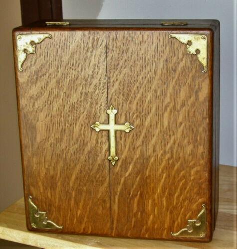 antique refurbished Bible box ***BEAUTIFUL***