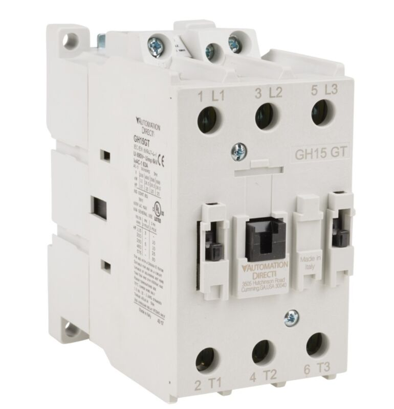 Automation Direct Contactor GH15GT-3-00A 40A 3 Pole 120V 60Hz NEW IN BOX
