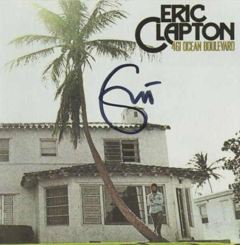 Eric Clapton Hand Signed 461 Ocean Boulevard CD Cream, Blind Faith