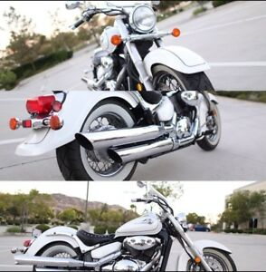 2003 Suzuki Volusia VL800 40th anniversary edition pearl white