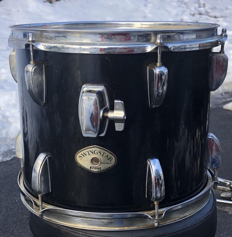 """Tama Swingstar Black Tom Drum  12"""""""