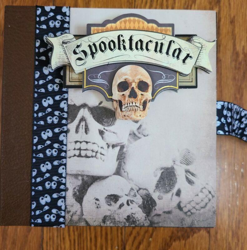 Handmade Mini Halloween Album