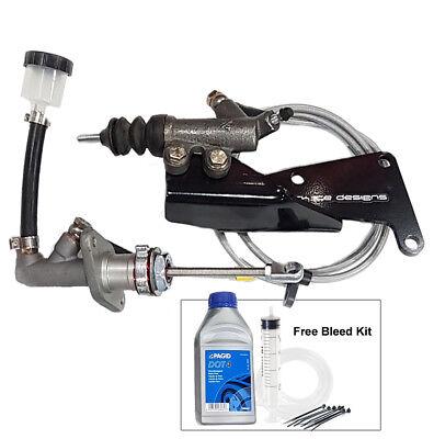 SHEDDIST UPRATED clutch hydraulics kit Freelander slave master cylinder 1.8 2.0