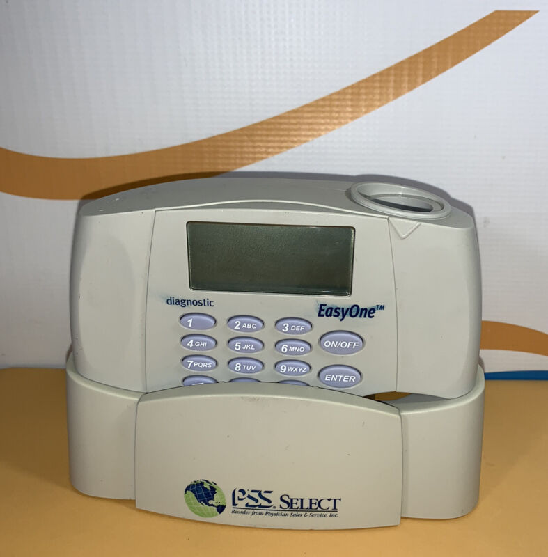 NDD EasyOne  2000 diagnostic Spirometer with Cradle and No Cable- UNTESTED