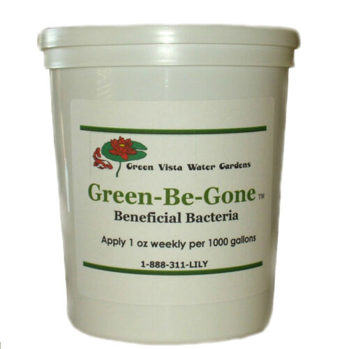 Green-Be-Gone (8oz)-pond algae control-water garden-clarity-debris-koi-fish-safe