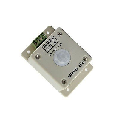 Pir Switch 8a Pir Motion Sensor Dc 12-24v For Led Strip Light Bulb Infrared K9