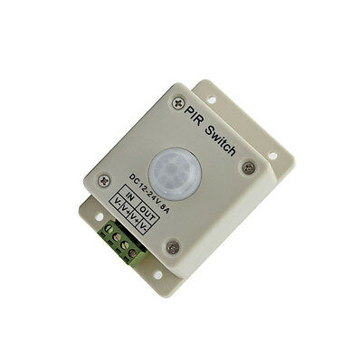 Pir Switch 8a Pir Motion Sensor Dc 12-24v For Led Strip Light Bulb Infrared