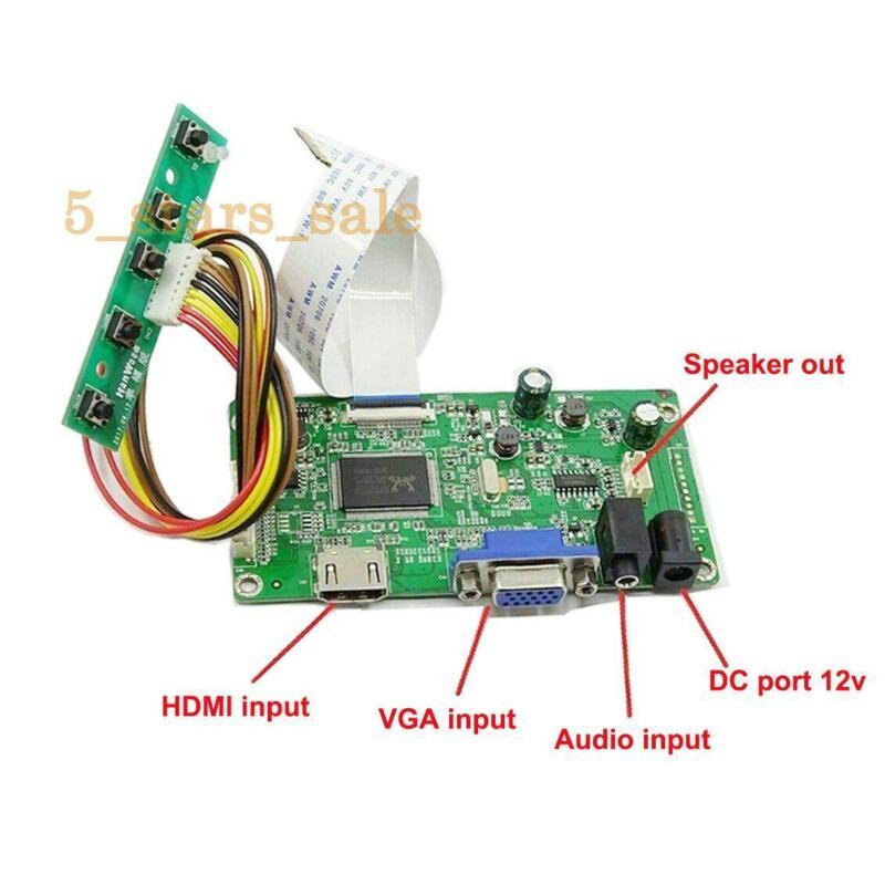HDMI+VGA LCD Controller Board Kit For 30PIN 1600x900 N173FGE-E23 EDP LCD Screen
