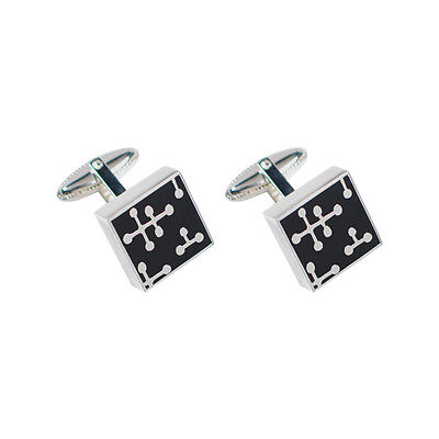 "ACME Studio ""Dots - Black"" Cufflinks by Charles & Ray Eames Pre-Owned"