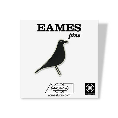 """ACME Studio """"House Bird"""" Pin by Charles & Ray Eames NEW Vitra Herman Miller"""