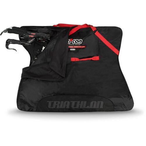 NEW- Scicon Travel Plus Triathlon Cycle Bag -2019 - black red