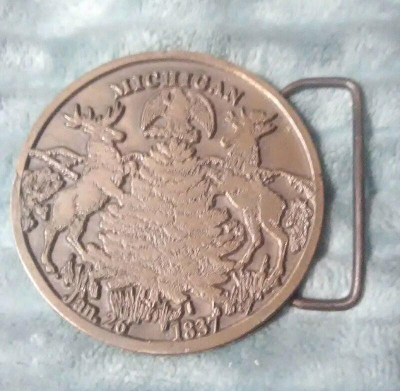 Vintage Michigan State Seal (
