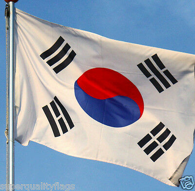 SOUTH KOREA KOREAN FLAG 3x5 ft better quality usa seller