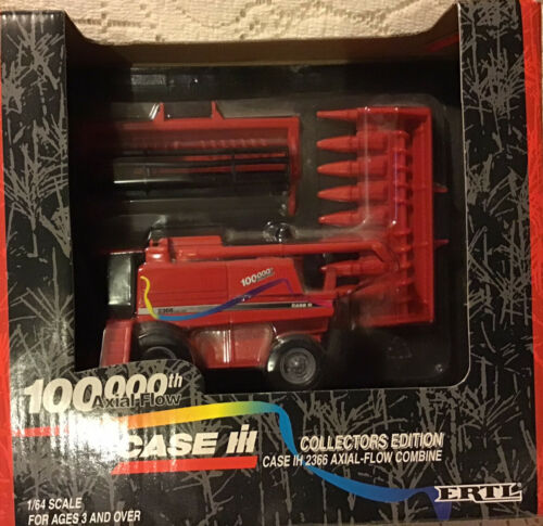 Case IH Axial Flow Combine 100,000th Collector Edition 1/64 Scale NIB