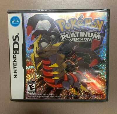 Pokemon: Platinum Version (Nintendo DS, 2009) Brand New Sealed *READ Description