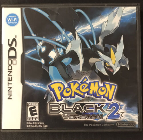 Pokemon Black Version 2 Nintendo DS, 2012 Ver 2 Case And Manual ONLY -No Game- - $19.99