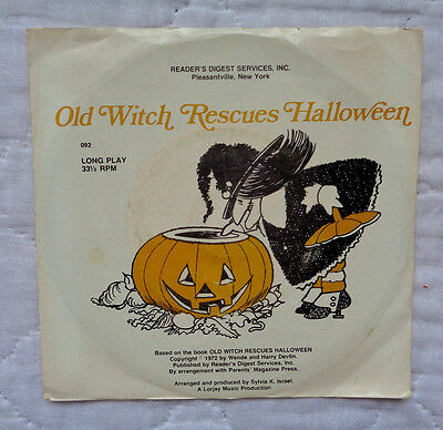 Wende & Harry Devlin Old Witch Rescues Halloween 7