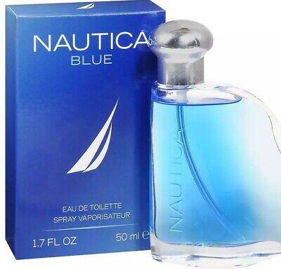 Nautica Blue Eau De Toilet Spray 1.7 Oz New In Box