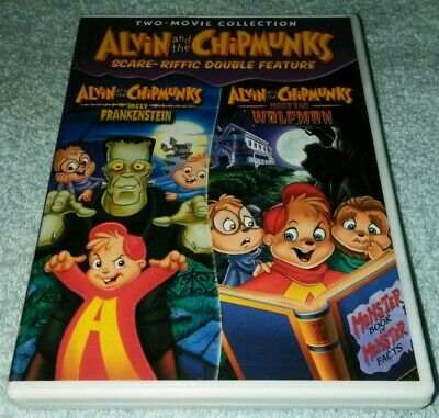 Alvin And The Chipmunks DVD Halloween