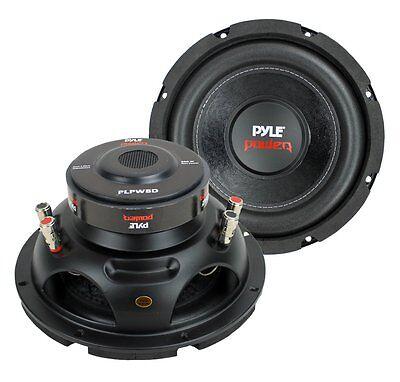 Pyle Car Subwoofer Audio Speaker - 8in Non-Pressed Paper Con