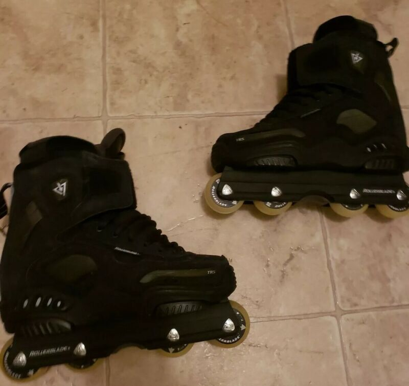 Rollerblade TRS Access Black Aggressive Skates US Size 5 Excellent Condition