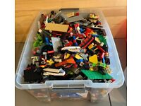 1.4 LB of Lego Pieces Random Assorted in Each Bag Free Shipping and Handling!