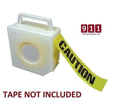 Barricade Tape Dispenser Fire Line Caution Firefighter Construction Crime Scene