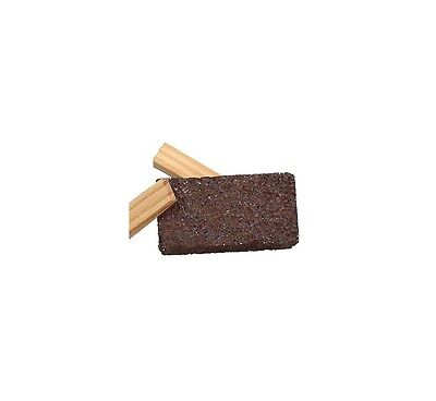 Floor Grinding Blocks Concrete Wood Wedges Included 2x2x4 10 Grit 6per Pack