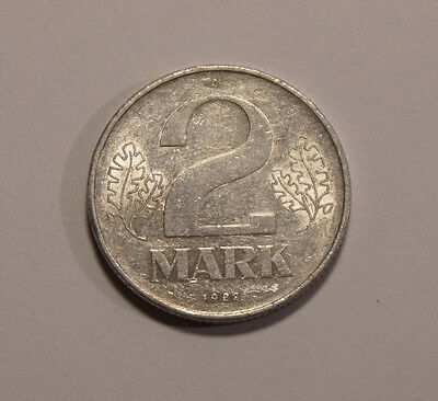 2 Deutsche Mark  DDR 1982 A  (B4)