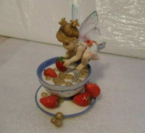 MY LITTLE KITCHEN FAIRIES  -    CEREAL FAIRIE -   NEW IN BOX WITH ALL PACKAGING