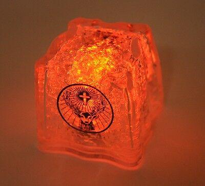 Cooler Jägermeister Plastik Eiswürfel mit LED Licht und Kühlfunktion