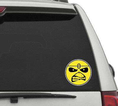 IRON MAIDEN Sticker Decal *4 SIZES*  Heavy Metal Vinyl Bumper Wall FREE SHIPPING Heavy Metal Stickers