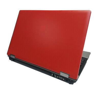 """RED HP Probook 15.6"""" Laptop AMD N520 4Gb RAM 320Gb Webcam WiFi Win10 Grade B"""