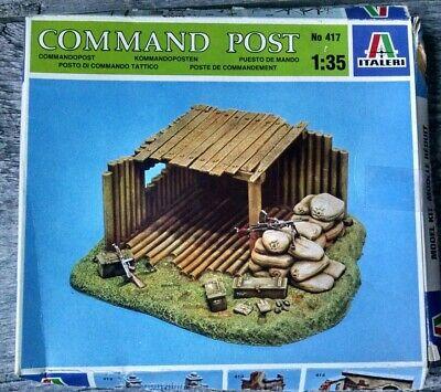 Italeri Command Post Model Kit 1:35 417
