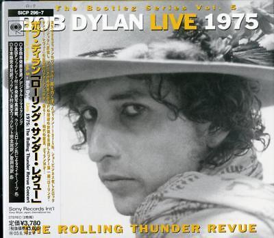 Bob Dylan Rolling Thunder Revue Japan 2 Cd Book I45