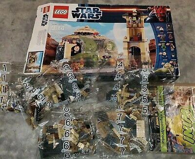 LEGO Star Wars Jabba's Palace 9516 New Open Damaged Box Sealed Bags opened box