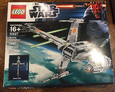 LEGO Star Wars B-Wing Starfighter (10227) UCS brand new in box See Pics