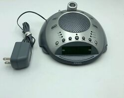 Homedics Sound Spa Deluxe Clock & Time Projection SS-4000 Tested Works