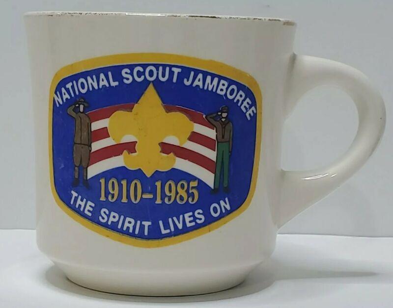 Vintage Boy Scouts Of America 1985 National Jamboree Coffee Cup Mug BSA