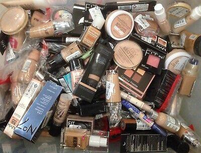 Wholesale Mixed Cosmetics Makeup Lot - 50+pc Maybelline, Revlon, Nyx, ELF, More