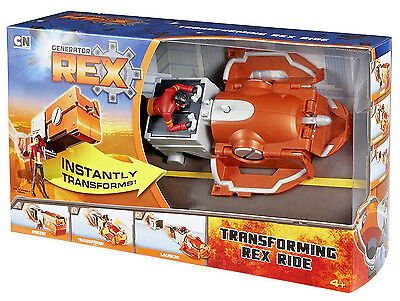 Generator Rex Transforming Rex Ride Vehicle W/FIGURE TOY NEW